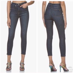rag & bone / JEAN High Waist Ankle Skinny Jeans